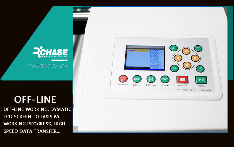 ROCHASE LASER MACHINE WITH OFFLINE WORKING FUNCTION